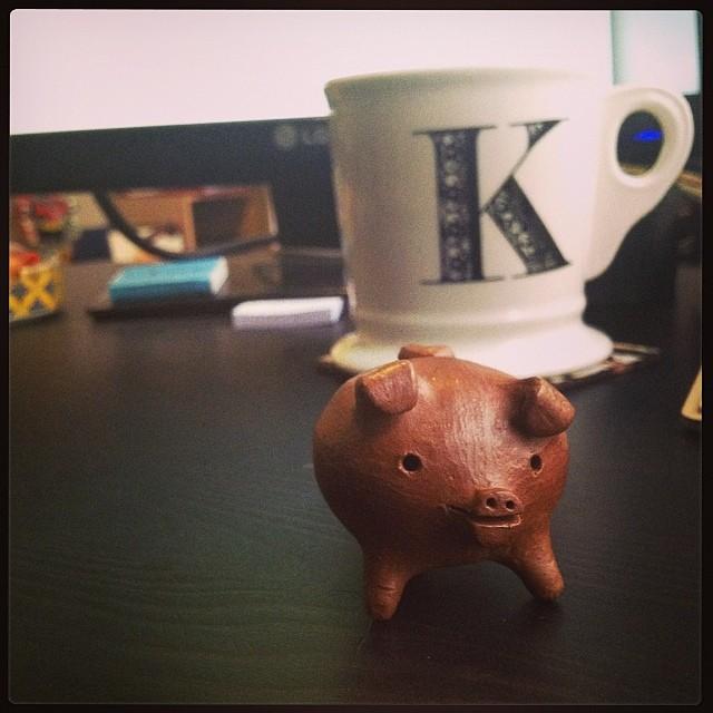 tripod piglet